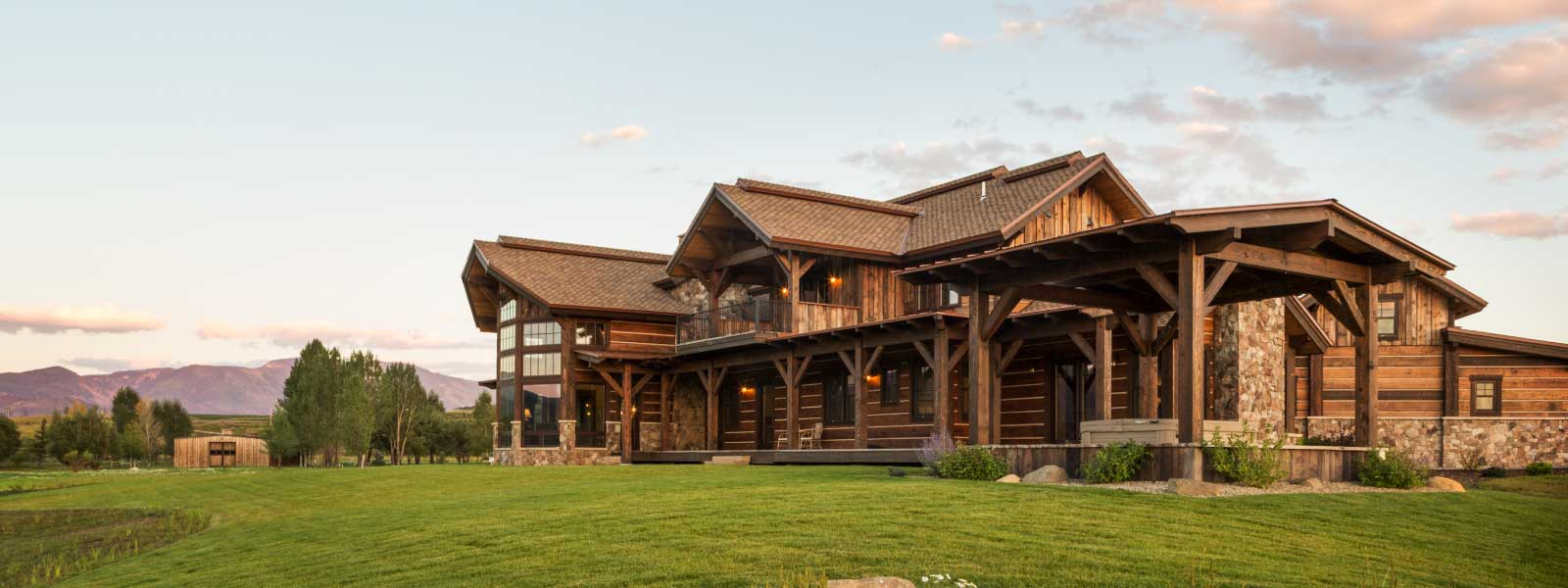 Steamboat Springs architect Ian Wagner log home